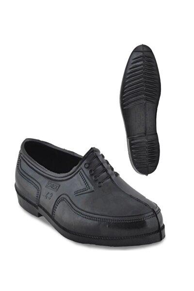 Kara Lastik Erkek Trabzon Lastiği Erkek Ayakkabı