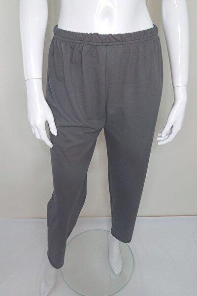 Unisex Düz Renk Penye Pijama