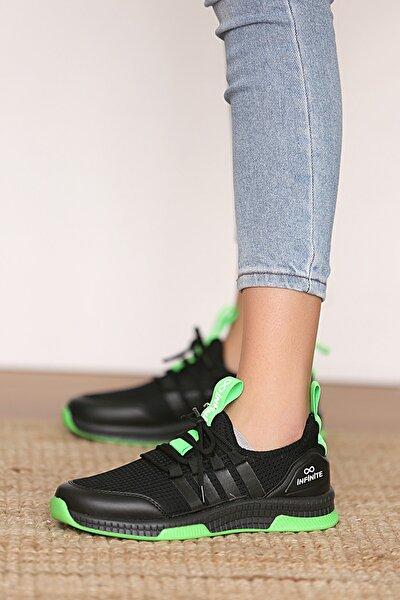 Kadın Siyahyeşil Sneakers