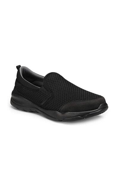 Unısex Siyah Renk Bağcıksız Hafif Memory Hafıza Taban Patik Ayakkabı Liponis