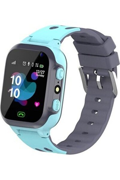 Q500s/2021 Akıllı Çocuk Takip Saati Mavi