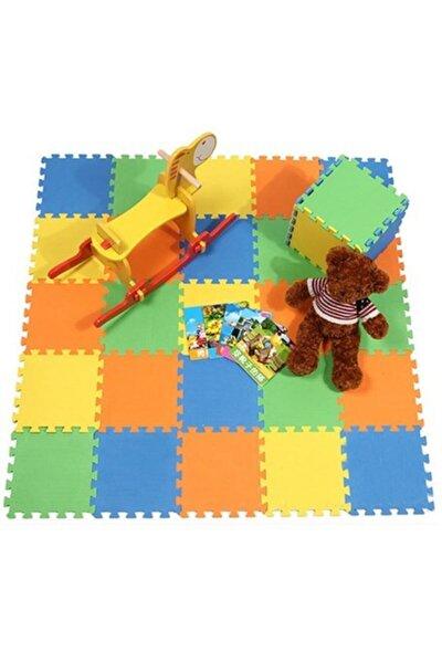 Eva Puzzle Renkli Oyun Karosu / Yer Kaplaması / Spor Matı / 33*33 Ölçü 12 Adet