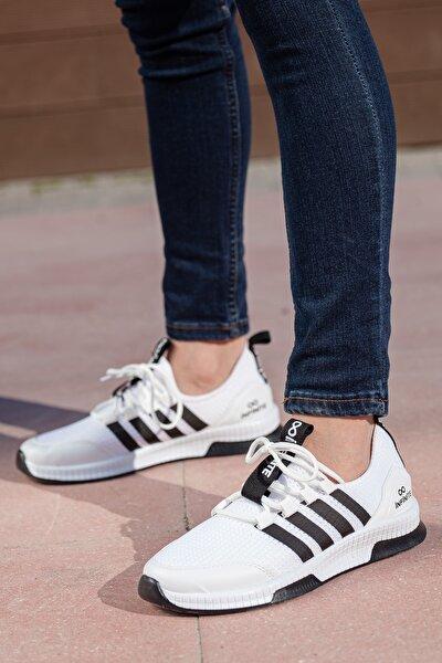 Unisex Beyaz Sneaker Ayakkabı Mgforce01