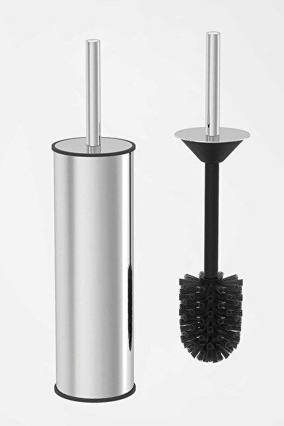 Paslanmaz Çelik Krom Wc Fırçası & Tuvalet Fırçası