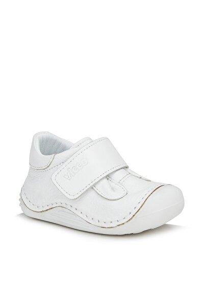 Pupa Unisex Ilk Adım Beyaz Günlük Ayakkabı