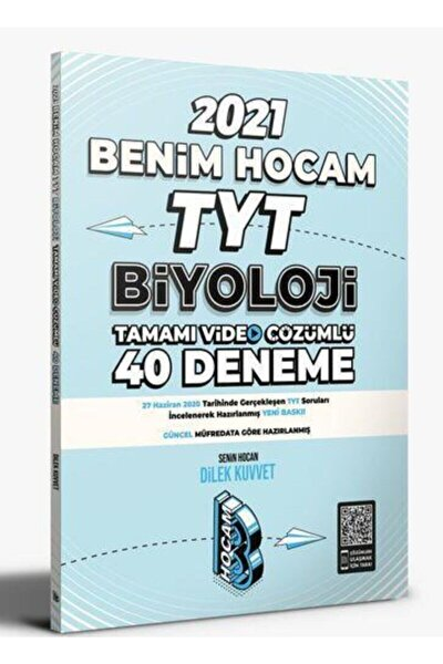 2021 Tyt Biyoloji Tamamı Video Çözümlü 40 Deneme Sınavı