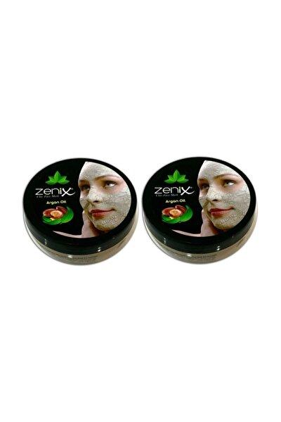 Argan Yağlı Kil Maske 350 Gr 2 Adet