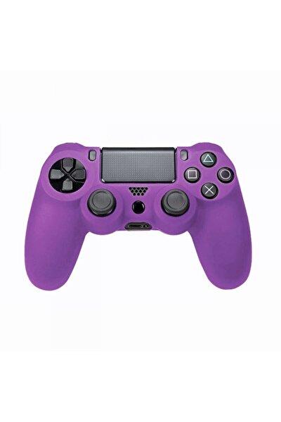 Sony Ps4 Joystick Silikon Koruyucu Kılıf Mor