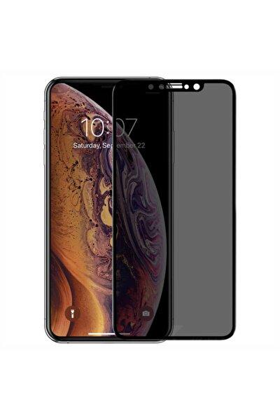 Apple Iphone Xs Max Kavisli Gizlilik Filtreli Hayalet Ekran Koruyucu