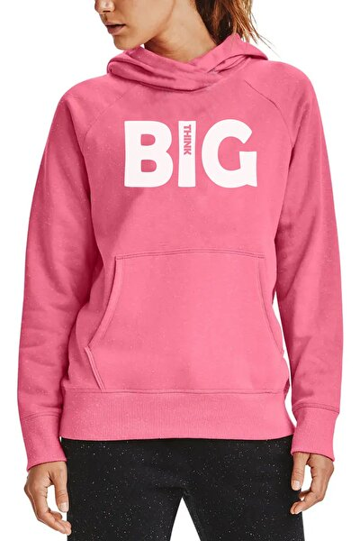 Kadın Pembe Big Think Sweatshirt
