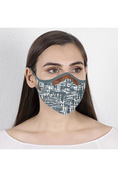 Kadın Giyilebilir Tasarım Bez Maske  Medicano V2 Desen