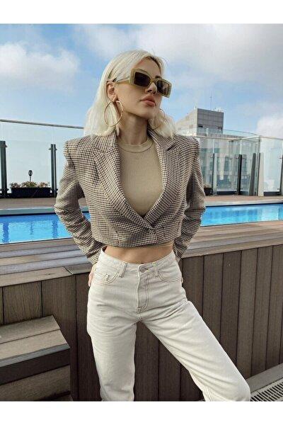 Kadın Bej Valencia Ceket