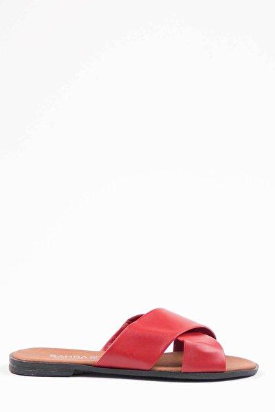 Kadın Kırmızı Terlik 1002-122-0003_1007