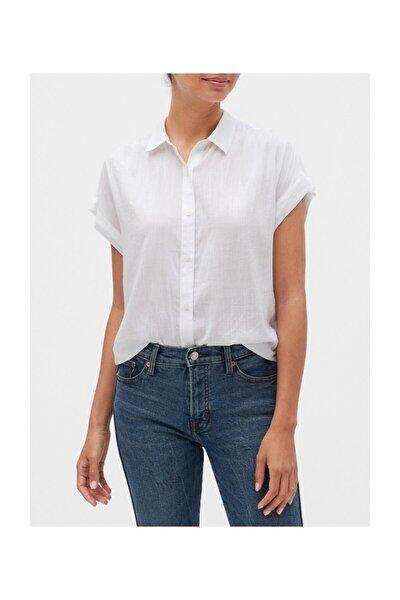 Kadın Kısa Kollu Gömlek 550879