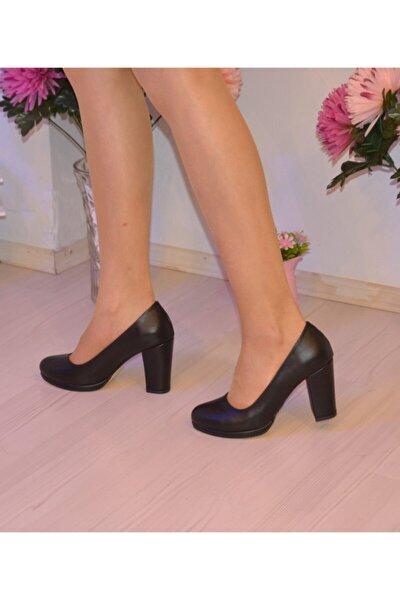 Kadın Siyah Platform Ayakkabı Z96