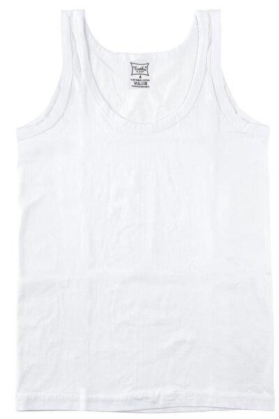 Erkek Çocuk Beyaz 3'lü Paket Atlet ELF568TUT0124CCM3