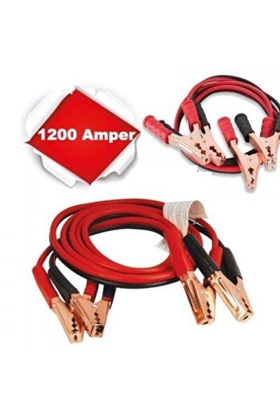 Araç Akü Takviye Kablosu 1200 Amper