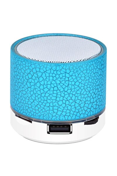 Işıklı Bluetooth Hoparlör Laptop Bilgisayar Kablosuz Ses Bombası