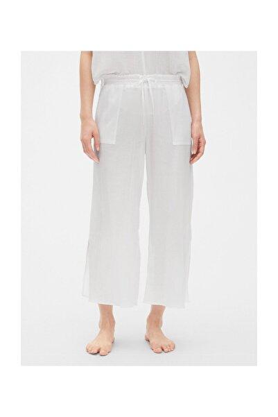 Kadın Beyaz Pijama Altı 469132