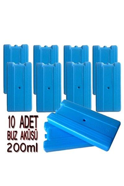 Buz Aküsü Buz Kaseti Ice Box 200ml 10 Adet