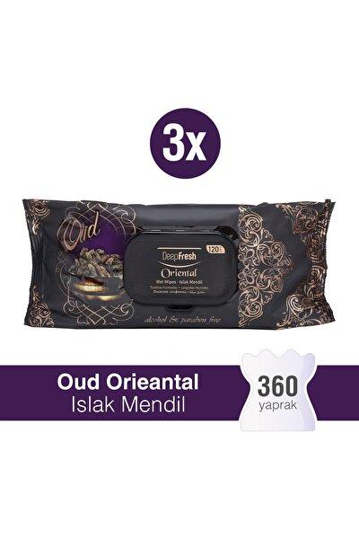 Oriental Islak Mendil Oud 3'lü Paket 360 Yaprak