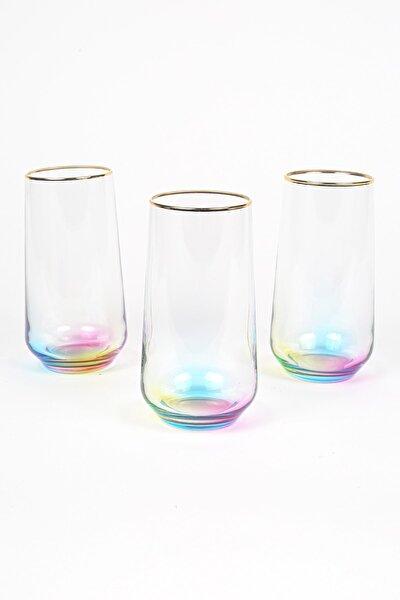 Rainbow 3'lü Meşrubat Bardağı Seti