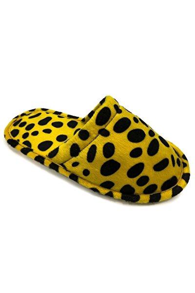 Kadın Safari Sarı Ev Terliği