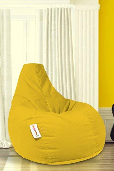 Armut Koltuk Damla L Model Su Geçirmez Kumaş Sarı Renk