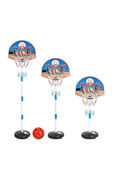 Çocuk Basketbol Potası Yükseklik Ayarlanabilir Kutulu Ayaklı Basket Eğitim Potası