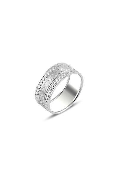 Sonsuzluk Motif Işlemeli Gümüş Alynas