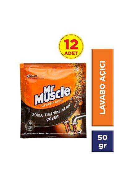 Mr. Muscle Mr Muscle Lavabo Açıcı Tekli 12'li