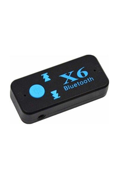 Bluetooth Müzik Alıcısı 3.5 Mm Aux Adaptör Araç Kiti 3in1