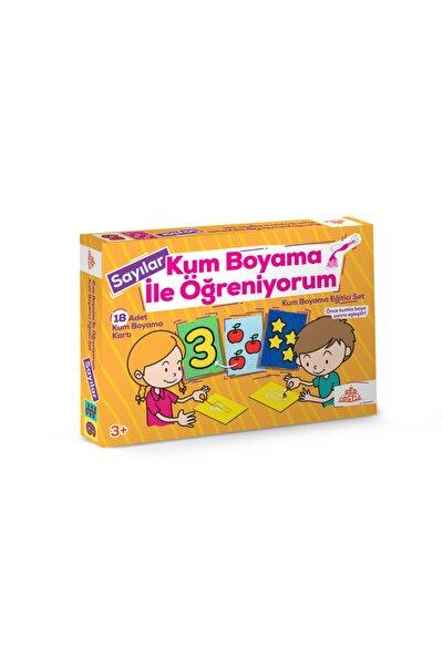 Kum Boyama Eğitici Aktivite Seti (sayılar)