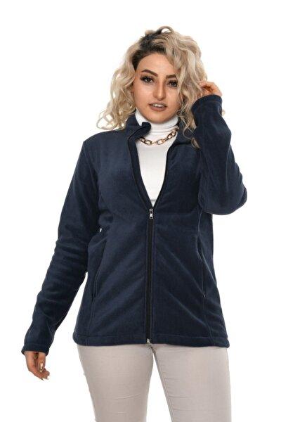 Kadın Lacivert Polar Ceket