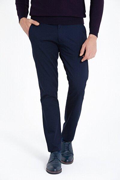 Erkek Lacivert Regular Fit Spor Pantolon