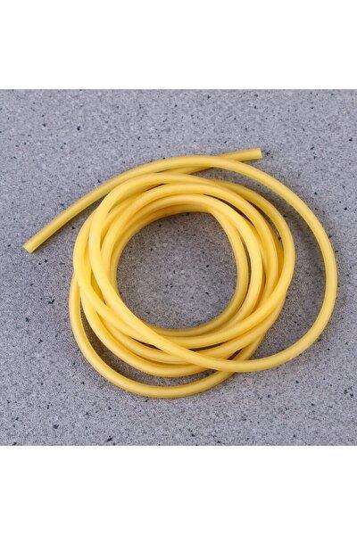 2 Metre Serum Lastiği, 2-4mm Turnike Dren Lastiği, Sapan Lastiği