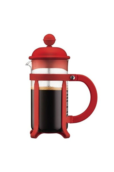 Java French Press 3 Cup Kırmızı