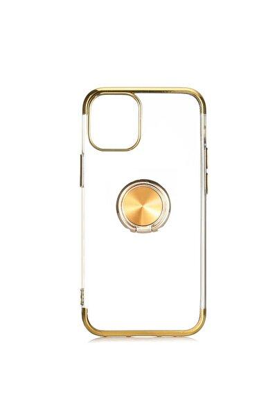 Apple Iphone 12 Pro Max Kılıf Yüzüklü Köşeleri Lazer Renkli