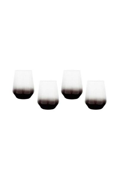 Lora 4lü Meşrubat Bardağı Seti -füme