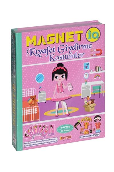 Manyetik Magnet Kıyafet Giydirme Kostümler