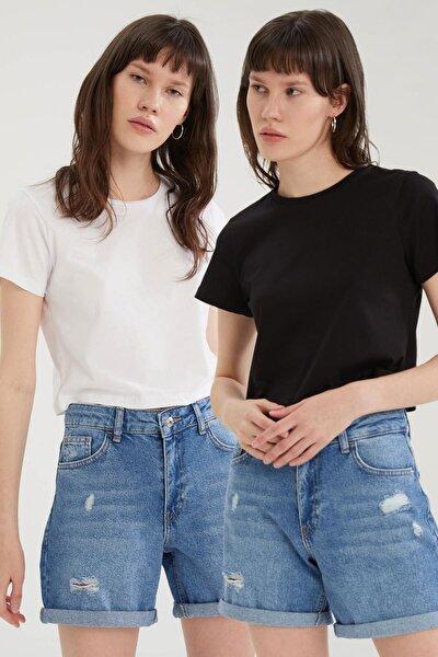 Basic Relax Fit 2'li Tişört