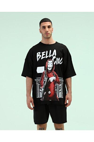 Oversize Baskılı Tshirt