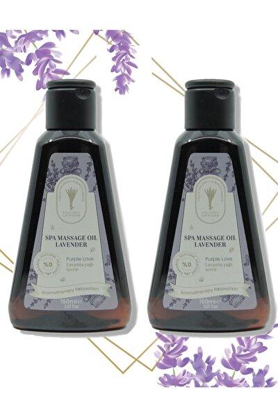 2 Adet Lavanta Yağlı Masaj Yağı 150 Ml Rahatlatıcı Ağrı Hafifletici Lavanta Yağı Aroma Terapi Yağ