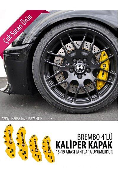 Opel Astra K Spoiler Opc Vent Sarı Brembo Kaliper Kapak