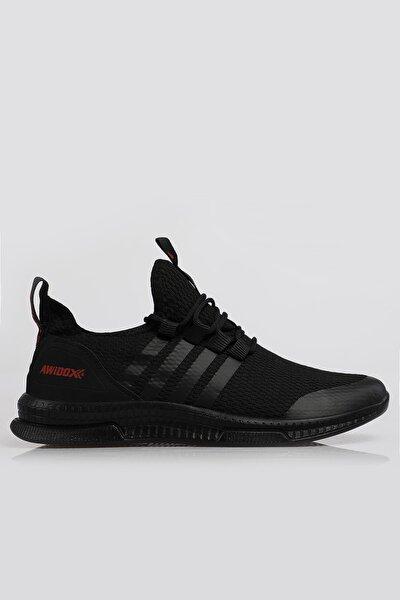 Unisex  Siyah Ortopedik Spor Sneaker Ayakkabı