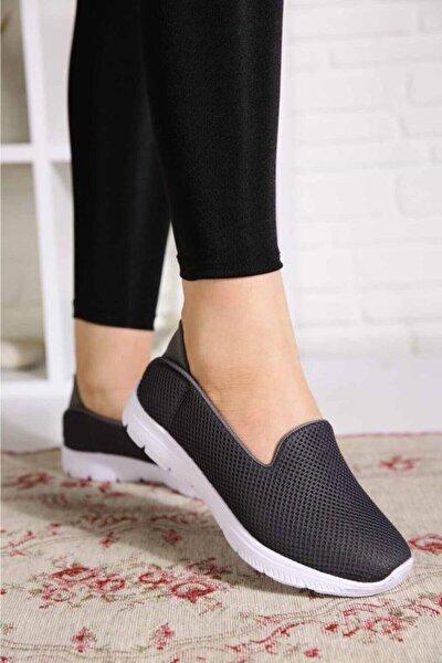 Füme Memory Foam Ortopedik Günlük Casual Spor Babet Ayakkabı Byndoz01