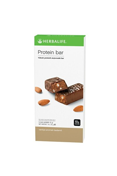 Protein Bar Vanilya Aromalı Bademli Vanilya Aromalı 14'lü Paket