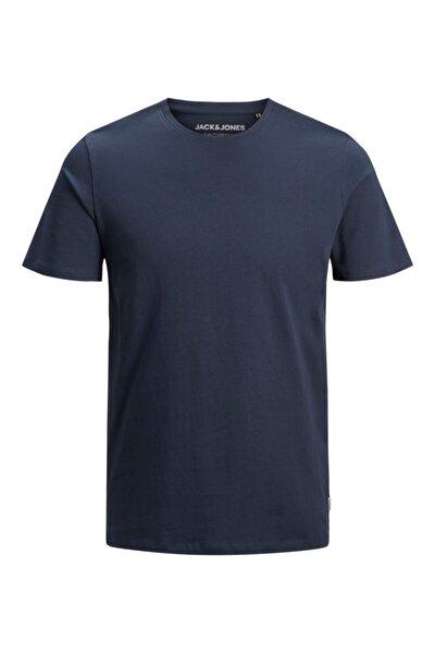 JJEORGANIC BASIC TEE SS O Lacivert Erkek T-Shirt 101069469