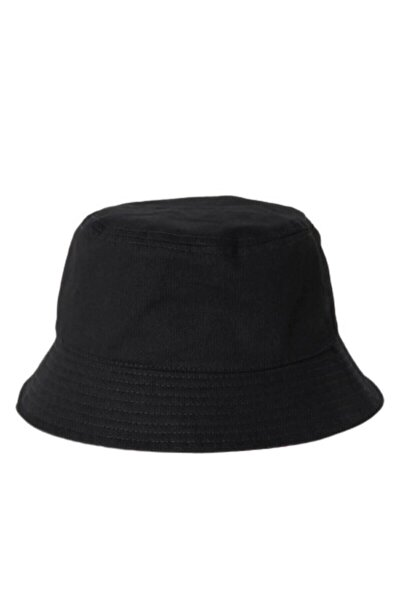 Siyah Bucket Balikçı Şapka