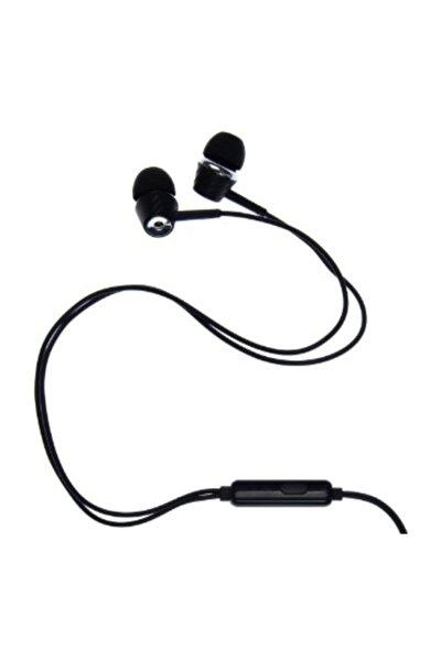 J-18-27 K14 Ekstra Bas Stereo Kulakiçi Kulaklık - Siyah
